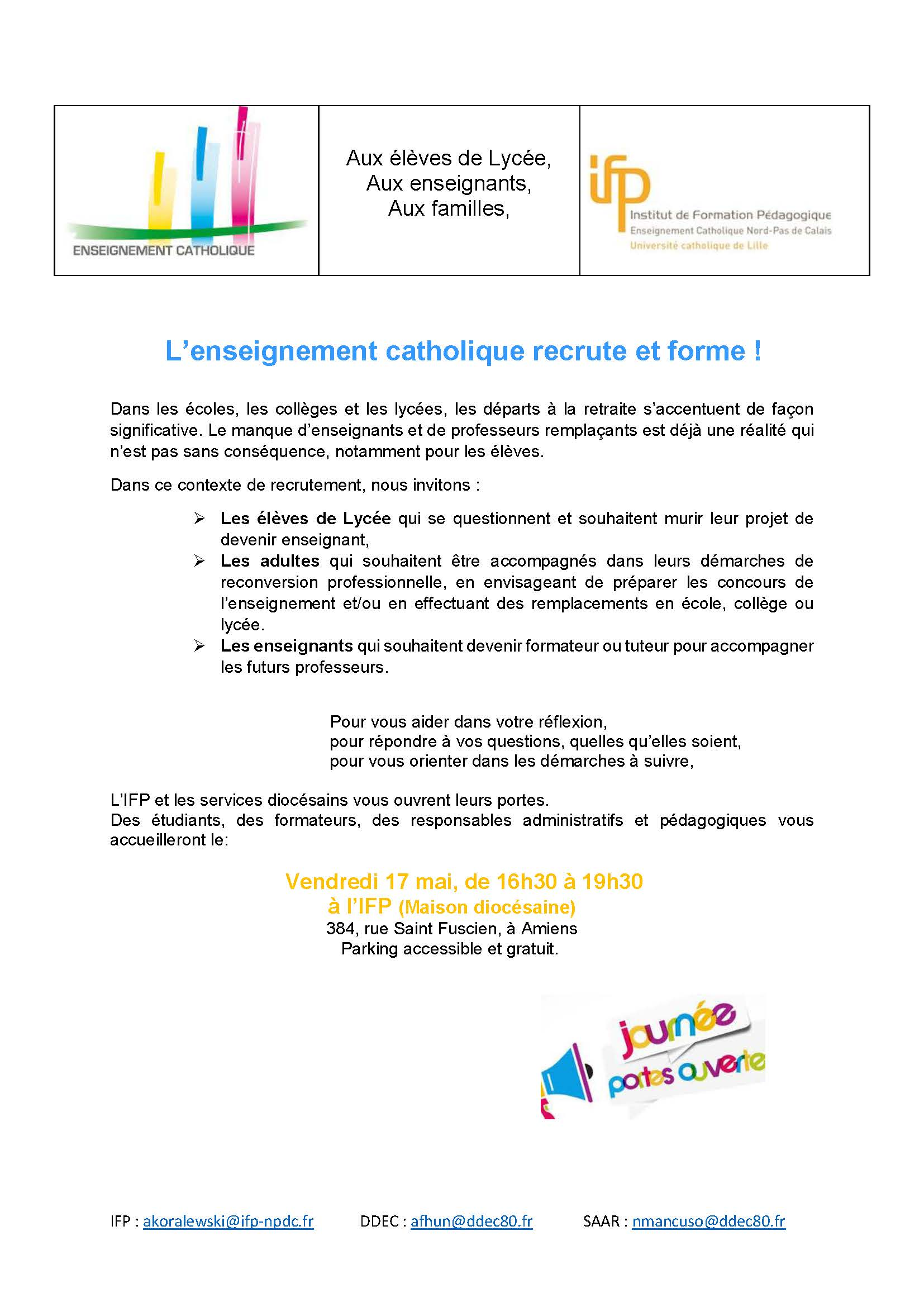 Lettre P.O. IFP 2019