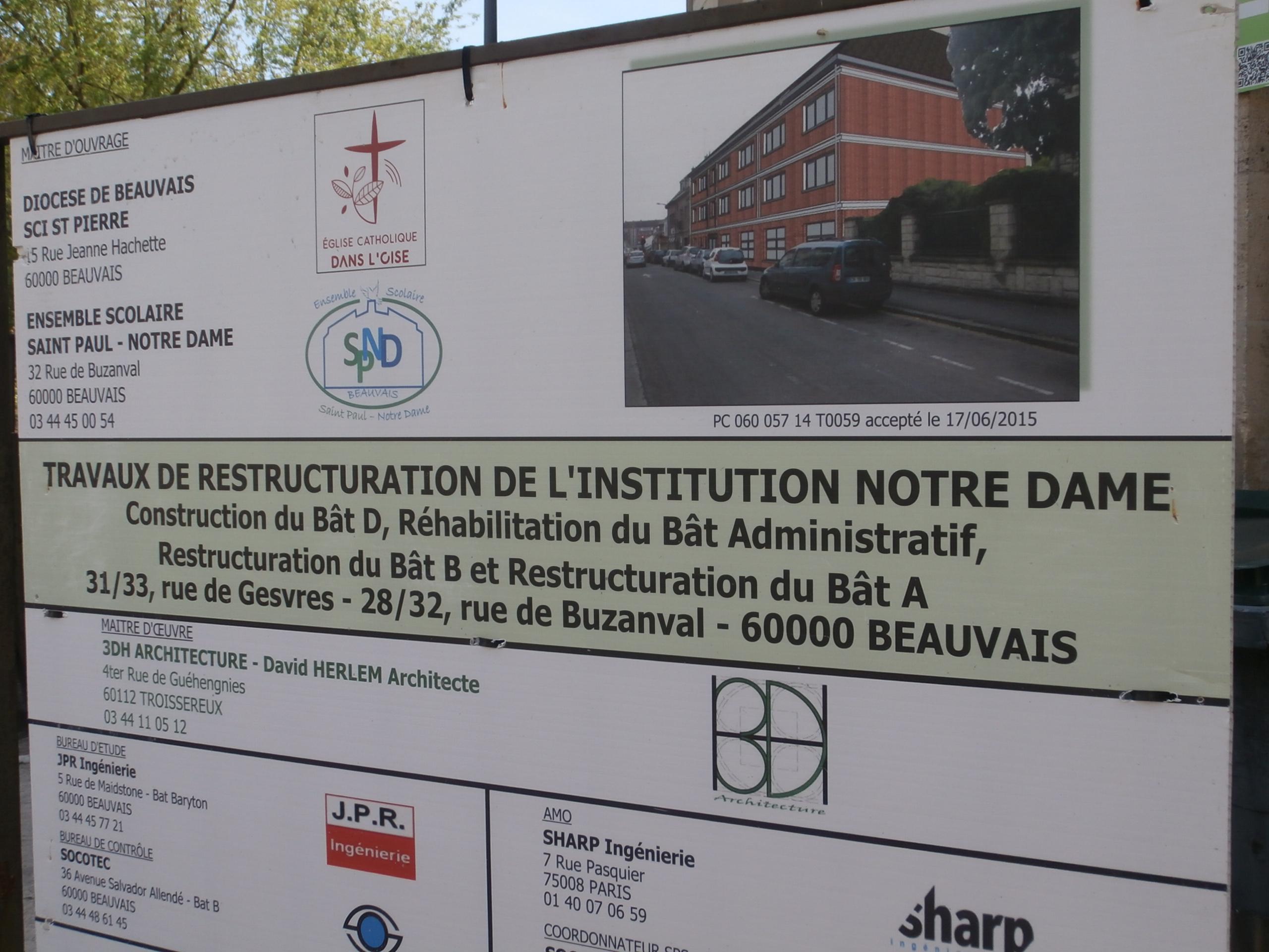 Ensemble Scolaire Saint-Paul - Notre-Dame Beauvais